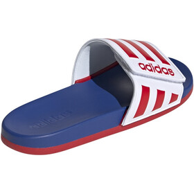 adidas Adilette Comfort AD Slides Men footwear white/scarlet/royal blue